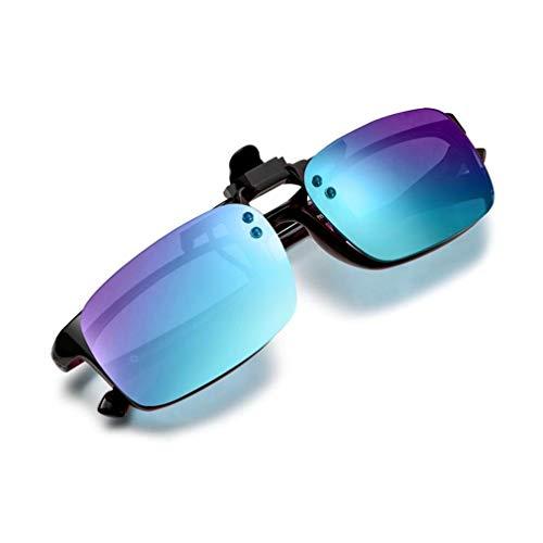 PILESTONE TP-029 (Typ B) farbenblinde Gläser Color Blind Korrekturbrillen Aufsteckgläser für Rot / Grün Color Blind - Mittel, stark und stark Deutan und Mittel, stark Protan