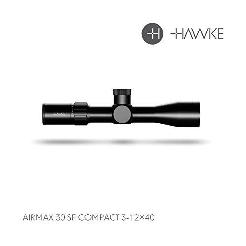 Hawke 3-12x40 SF AMX IR Frontier Zielfernrohr, schwarz, M