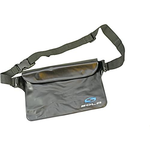 SOLA Aqua Pouch Waterproof Bum Bag - Black A0032