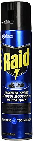 Raid Paral Insekten-Spray, Fliegenspray 1er Pack (1 x 400 ml)