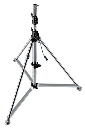 Manfrotto statief Super Windup Inox