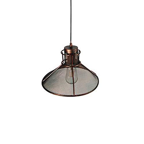 PLUS PO Lámparas de techo colgante Lámpara colgante vintage Luces de techo colgante Accesorios para techos retro pantalla