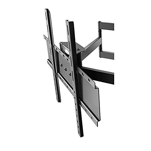 Soporte de pared universal para TV de sobremesa, soporte fijo de pared para TV, soporte de pared para TV ultradelgado para TV LED LCD de plasma Full HD de 36-85 pulgadas Max VESA 600x400, capacidad 8