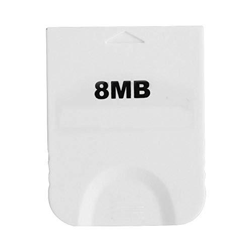 VBESTLIFE 4MB / 8M / 16M / 32M / 64M / 128MB / 256MB geheugenkaart voor Nintendo Wii consoles spelen, 8 MB