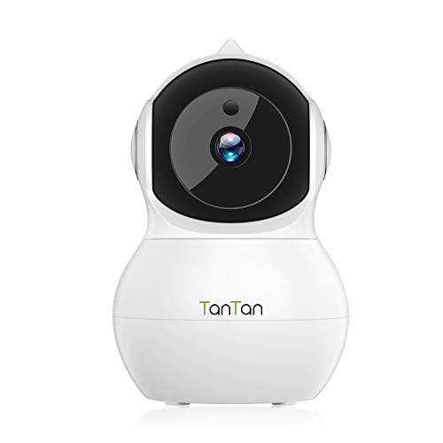 IP Camera, TanTan 1080P HD Wireless Smart Dome Camera, Security Surveillance System with Motion Detection, Night Vision, 2-Way Audio, Motion Tracker, Remote Monitor for Home