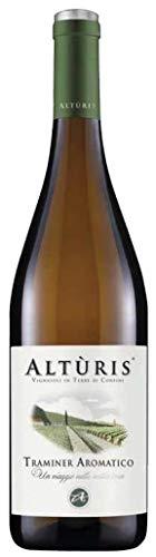 ALTURIS Vino bianco TRAMINER BOTT. 75 CL - IMBALLO DA 6 BOTTIGLIE DA 75 CL