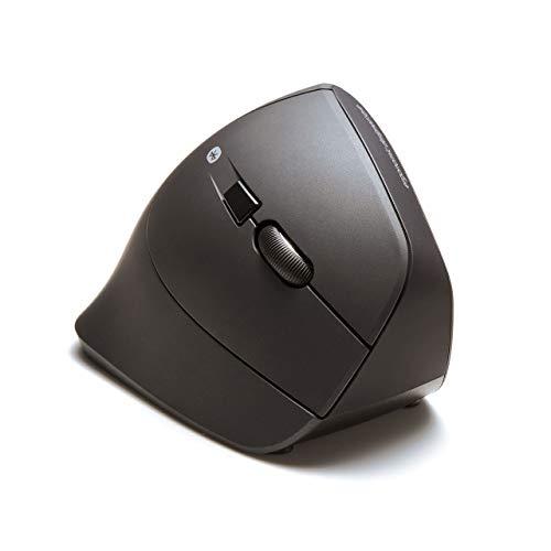 サンワサプライ静音Bluetoothエルゴノミクスマウス腱鞘炎防止ブルーLED5ボタン大型MA-ERGBT11N