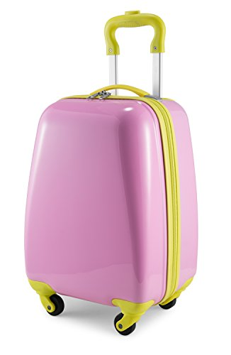 Hauptstadtkoffer Kids Luggage Children's Luggage Suitcase Hard-Side Glossy Multicoloured Pink