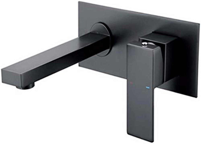 360 Umdrehungsrunde Solidwall-Mischer für warmes und kaltes Wasser mattiert