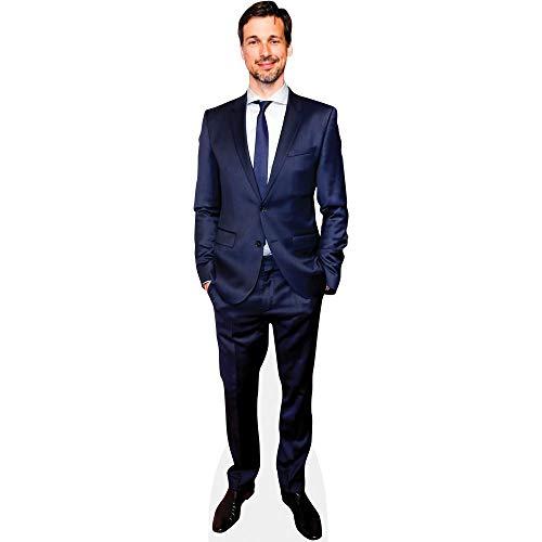 Celebrity Cutouts Florian David Fitz (Blue Suit) Pappaufsteller Mini