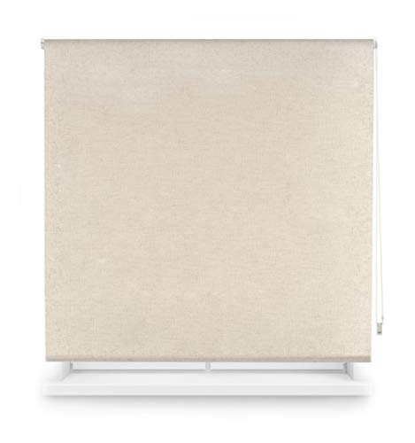Blindecor Estor Lino Opaco Enrollable, Lino, 100x230cm