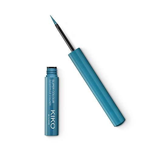 KIKO Milano NEW SUPER COLOUR WATERPROOF EYELINER 04 | Delineador de ojos líquido con color ultracubriente y resistente al agua
