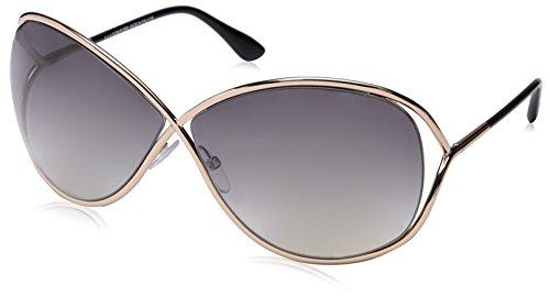 Occhiali da sole polarizzati Tom Ford Miranda FT0130 C68 28B (shiny rose gold / gradient smoke)