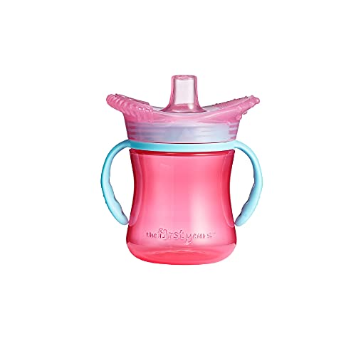 The First Years Teethe Around Sensory Trainer Sippy Cup, Azul