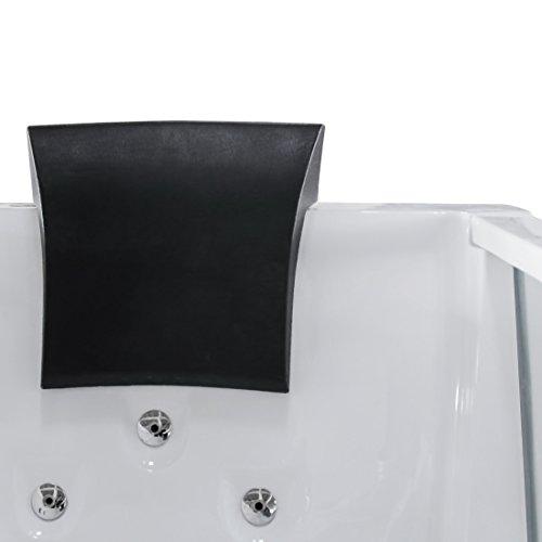 AcquaVapore Whirlpool Pool Badewanne Wanne A1813NA mit Reinigungsfunktion 90×185, Selfclean:aktive Schlauch-Reinigung +70.-EUR - 8