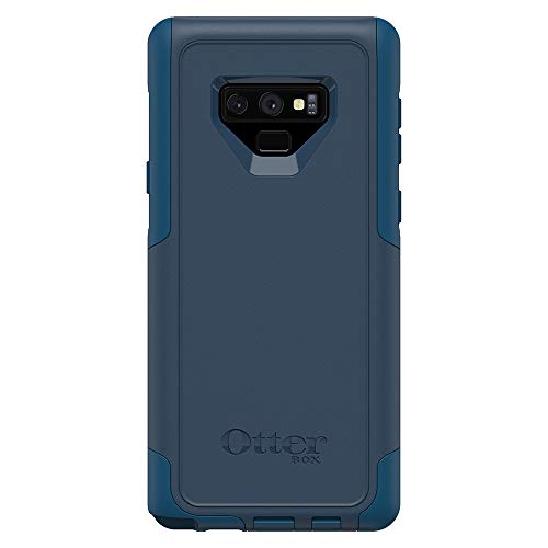 OtterBox COMMUTER SERIES Case for Samsung Galaxy Note9 - Retail Packaging - BESPOKE WAY (BLAZER BLUE/STORMY SEAS BLUE)