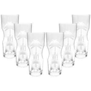 Afri Cola Contour Glas Gläser Set ? 6x Gläser 400ml