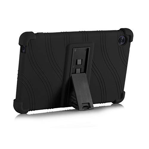 ZONLIN Genérico Silicona Funda Carcasa para Huawei 2020 Mate Pad T8 KOB2-L09/W09 Tableta de 8 Pulgadas, con Stand Función, Negro