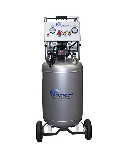 California Air Tools 20020AD Ultra Quiet & Oil-Free Air Compressor 2.0 Hp, 20.0 Gal. Steel Tank Air Compressor with Automatic Drain Valve