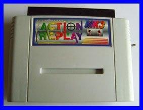 Action Replay 3 MK3 (einzeln) Schummelmodul Cheatmodul Cheat Cheats Cheater Mogeln Mogelmodul (für SNES Super Nintendo)