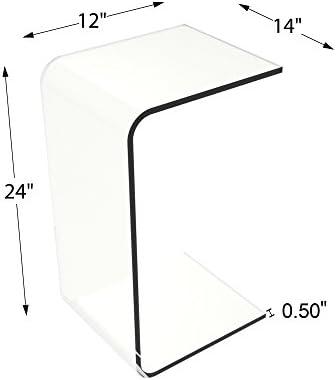 Acrylic cube table _image1
