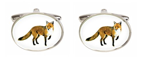 Fantaisie Fox Boutons de manchette