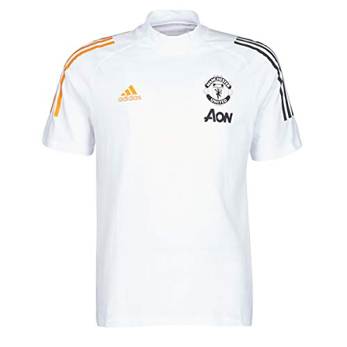 adidas 2020-2021 Man Utd Training Tee (White)