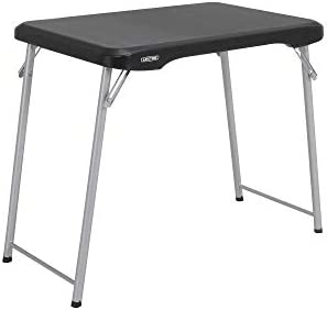 LIFETIME Stacking Compact Folding Table 30 in Black product image