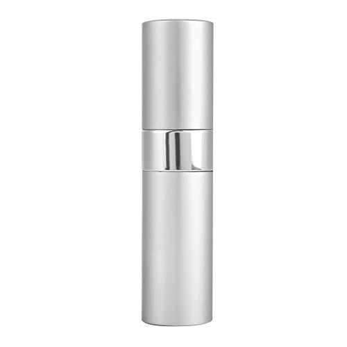 Atomizador de perfume, práctico frasco de perfume con spray fino para cualquier momento y lugar para viajes o uso diario(white)