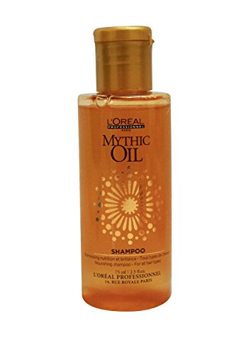 L 'Oréal Mythic Oil - Champú nutritivo, 75ml–tamaño de viaje