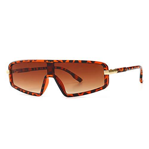CjYTYJ Street Trendy Flat Top Models Sonnenbrille Männer Frauen Vintage Classic Schwarz Cat Eye Sonnenbrille Männlich Sport Brille Uv400