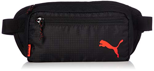 PUMA Unisex– Erwachsene ftblNXT Waistbag gürteltasche, Black-NRGY Red, UA