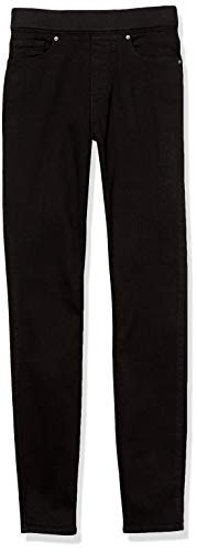 Levi's Women's Pull-On Jeans, dark black, 33 (US 16)