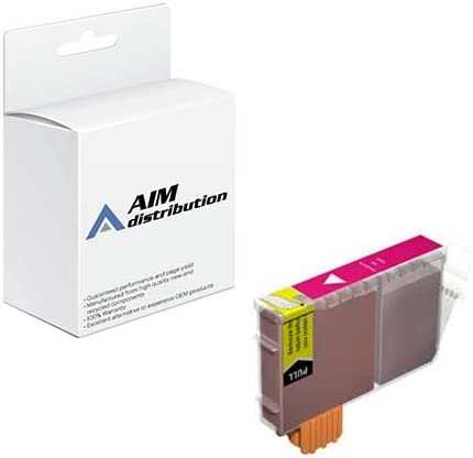 AIM Compatible Replacement for Canon BCI-6M Magenta Inkjet (280 Page Yield) - Generic