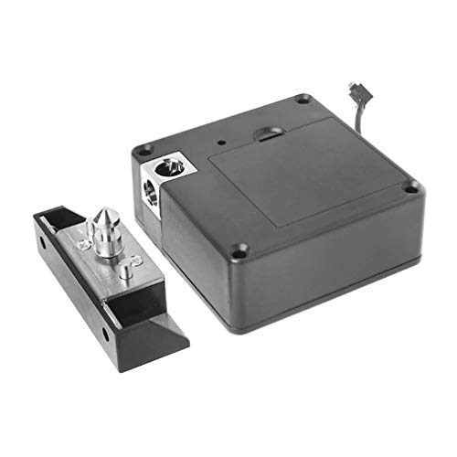 T8IC Card Magnetic Card Induction Smart Lock Hide Keyless Drawer Door LockBlack