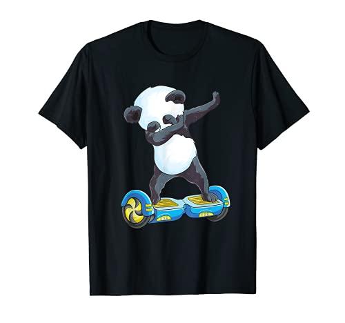 Hoverboard de equilibrio del uno mismo eléctrico del patinador del panda lindo...