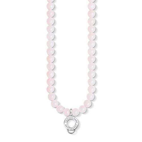 Thomas Sabo Damen-Kette Charm Club Perlen 925 Sterling Silber 60 cm X0237-034-9-L60