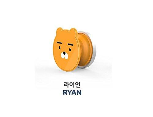 Kakao Friends Smart Phone Smart Snap Grip Tok Slim Ring Biner (Season 2) (Ryan) …