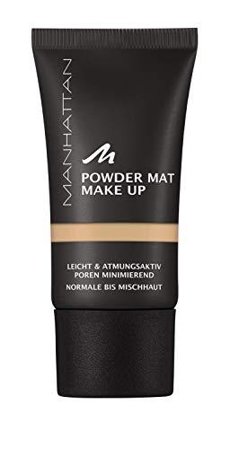Manhattan Powder Mat Make-up, Mattierendes Puder und Foundation in einem, Farbe Warm Ivory 79, 30 ml