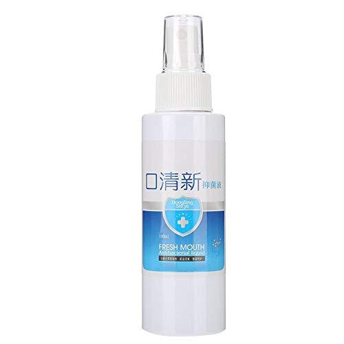 100ML Oral Spray Antibacterial Oral Spray Anti-Caries and Bad Breath Treatment for Oral Fresh