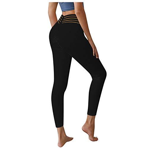 VJGOAL Sin Costuras Push Up Gym Leggings Alta Cintura Yoga Fitness Mallas Pantalones Deportivos para Mujer