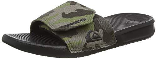 Quiksilver Bright Coast Adjust Youth, Zapatos de Playa y Piscina Niños, Verde (Green/Brown/Black Xgck), 31 EU