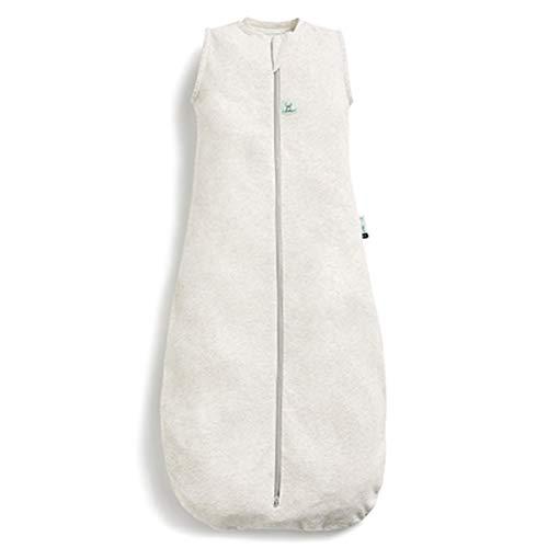 ergoPouch Schlafsack Baby Jersey, 100% Bio Baumwolle - TOG 0.2, weiß, 8-24 Monate (90cm)