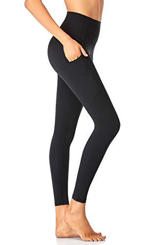 Leggings with Pockets for Women Butt Lift High Waisted Tummy