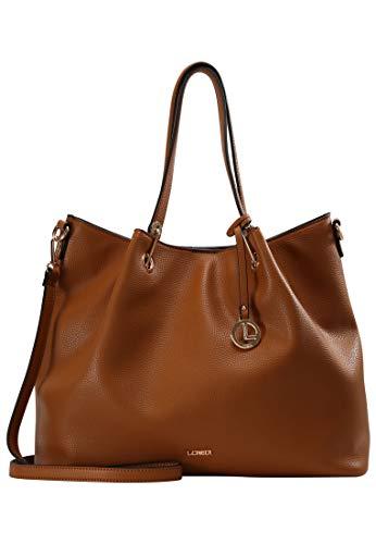 L.CREDI Ebony Handtasche 38 cm