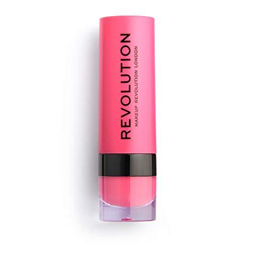 Makeup Revolution Cutie 139 Matte Lipstick, Pink, 3 ml
