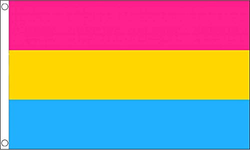 Giant Panseksuele Pride Vlag - 8ft x 5ft