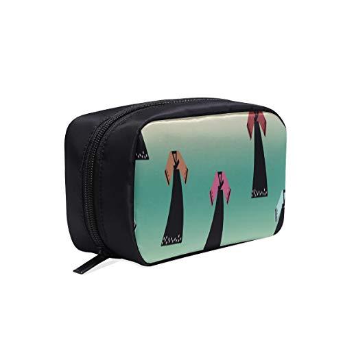 Pack Sac Pour Femmes Mode Art Belle Rétro Danse Ethnique Sacs De Mode Pour Adolescentes Trousse De Toilette Voyage Travail Femme Sac Cosmétique Sacs Multifonction Cas Femmes Cosmétique Sac