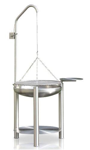 Edelstahl Grill, Ø 70 cm, RICON, deutsche Herstellung