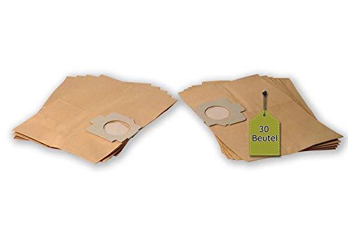 eVendix Staubsaugerbeutel passend für Privileg 065 248, 30 Staubbeutel + 6 Mikro-Filter, kompatibel mit Swirl MX85